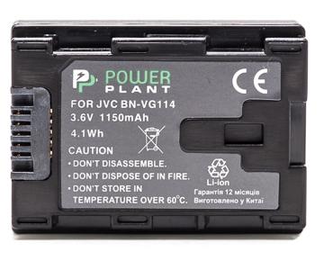 Купить Аккумулятор PowerPlant JVC BN-VG114 Chip 1150mAh