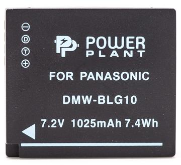 Купить Аккумулятор PowerPlant Panasonic DMW-BLG10, DMW-BLE9 1025mAh