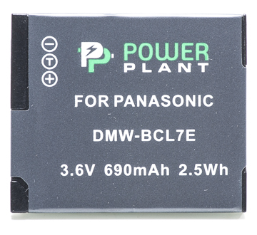 Купить Аккумулятор PowerPlant Panasonic DMW-BCL7E 690mAh