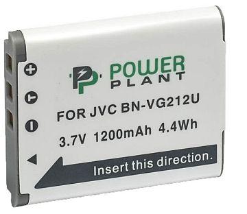 Купить Аккумулятор PowerPlant JVC BN-VG212U 1200mAh