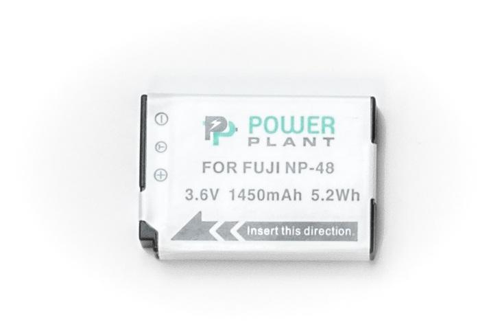 Купить Аккумулятор PowerPlant Fuji NP-48 1450mAh