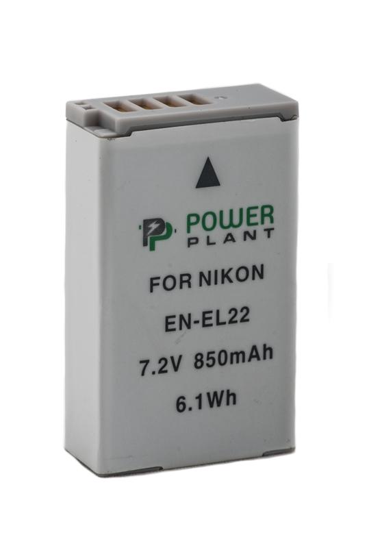 Купить Аккумулятор PowerPlant Nikon EN-EL22 850mAh
