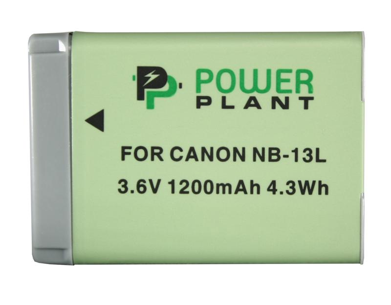 Купить Аккумулятор PowerPlant Canon NB-13L 1200mAh