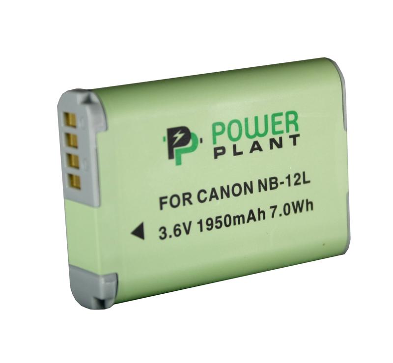 Купить Аккумулятор PowerPlant Canon NB-12L 1950mAh