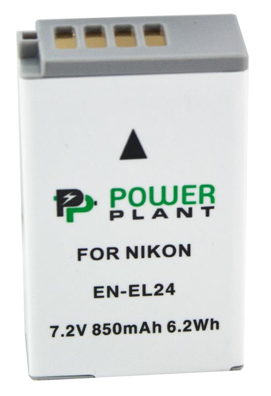 Купить Аккумулятор PowerPlant Nikon EN-EL24 850mAh