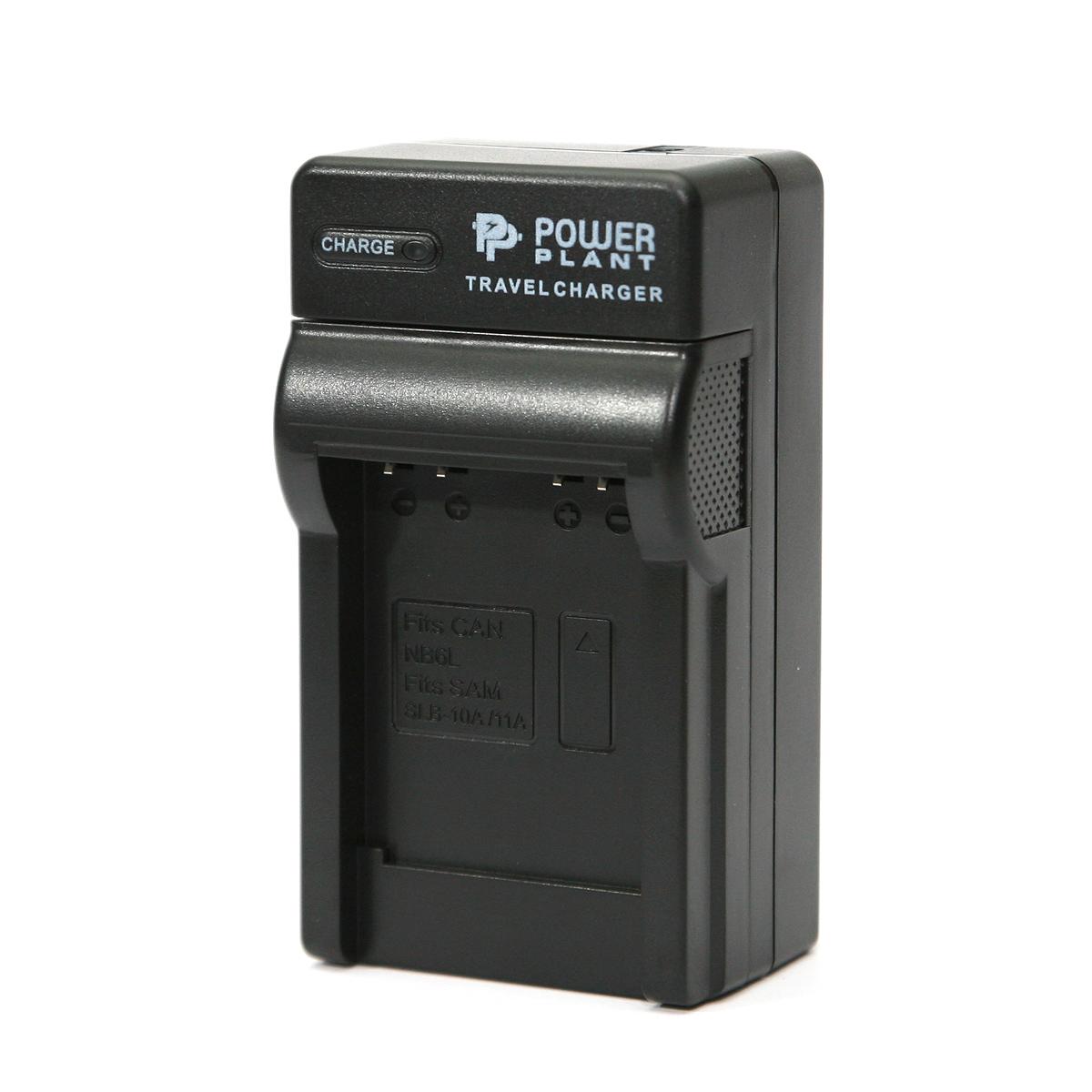 Купить Сетевое зарядное устройство PowerPlant Samsung SLB-11A