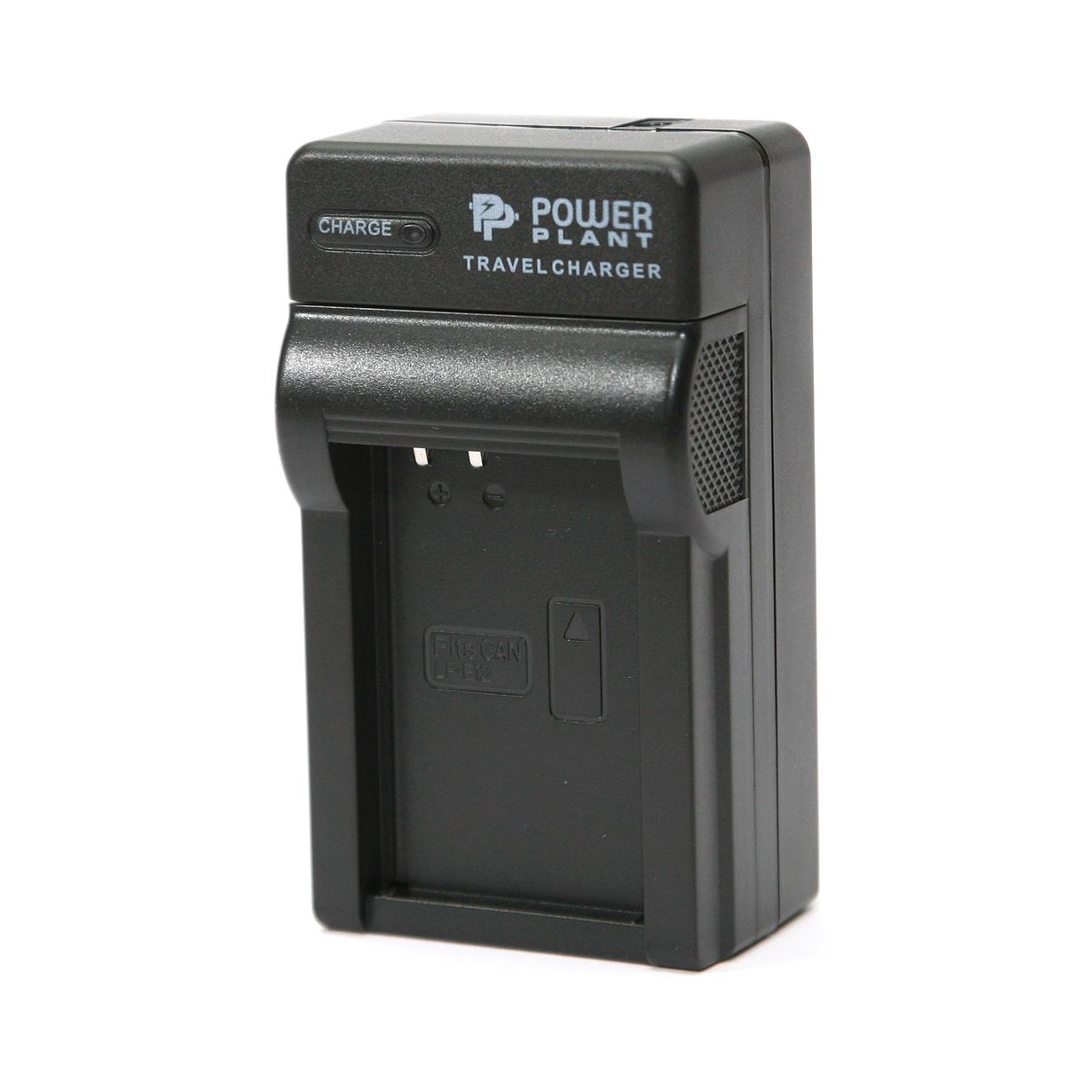 Купить Сетевое зарядное устройство PowerPlant Canon LP-E12