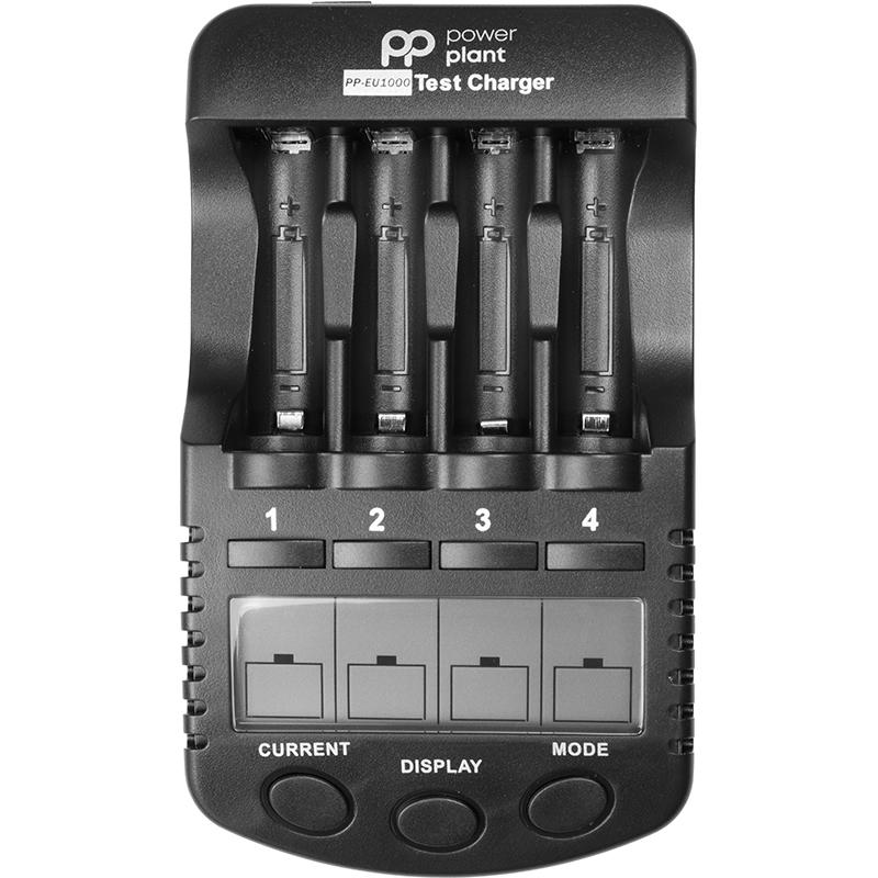 Купить Зарядное устройство PowerPlant для аккумуляторов AA, AAA/ PP-EU1000