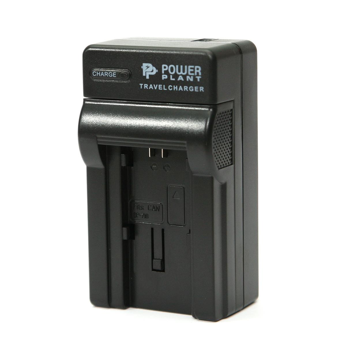 Купить Сетевое зарядное устройство PowerPlant Canon BP-727