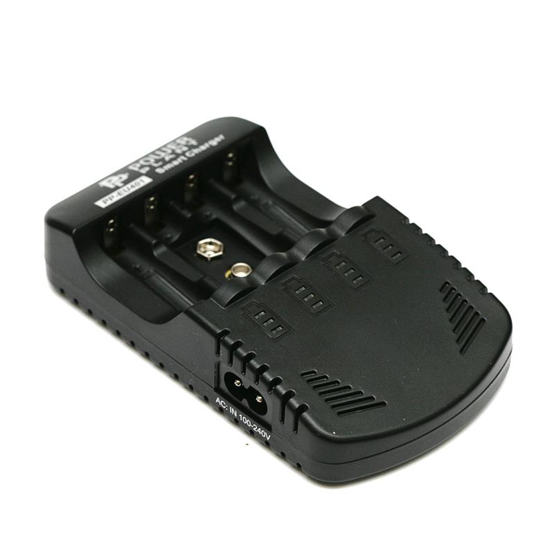 Купить Зарядное устройство PowerPlant для аккумуляторов AA, AAA,9V/ PP-EU401
