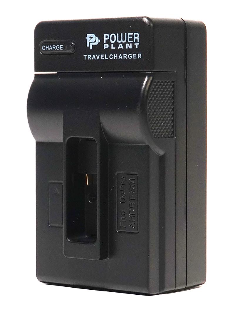 Купить Сетевое зарядное устройство PowerPlant GoPro AHDBT-501
