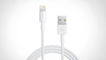 Купить Кабель PowerPlant USB - Lightning (iPhone 5, 5S, 6), 1m