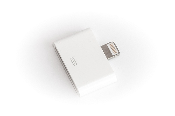 Купить Переходник PowerPlant iPhone 4 30Pin - iPhone 5 8pin