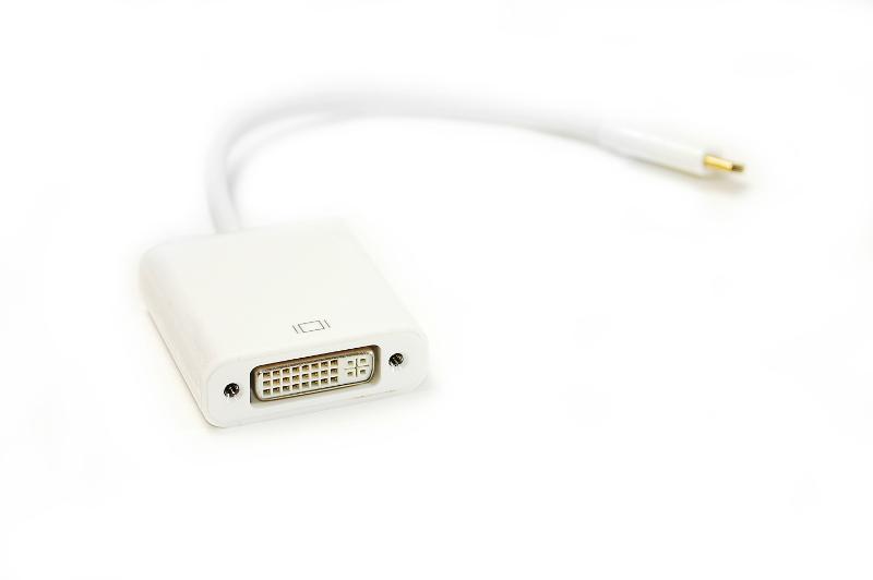 Купить Кабель PowerPlant USB Type-C - DVI, 15cm