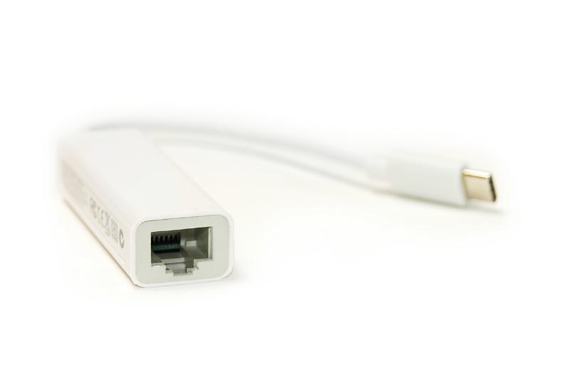 Купить Кабель PowerPlant USB Type-C - RJ45, 12cm