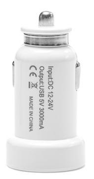 Купить Aвтомобильное зарядное устройство PowerPlant 2xUSB, 3A