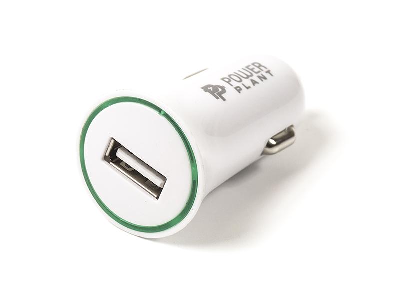 Купить Автомобильное зарядное USB-устройство PowerPlant 2.1A