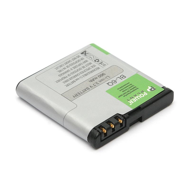 Купить Аккумулятор PowerPlant Nokia 6700 (BL-6Q) 960mAh