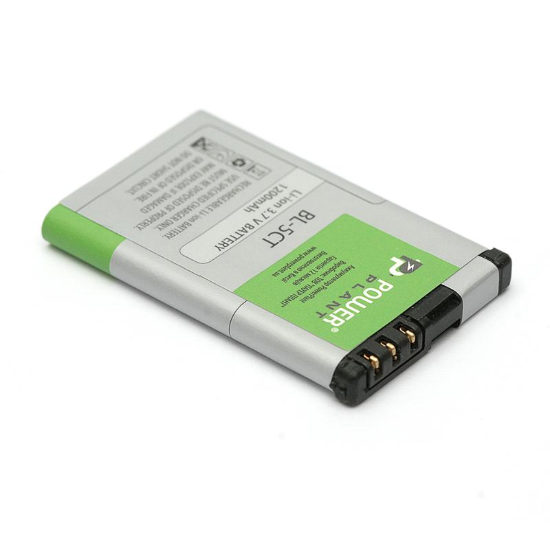 Купить Аккумулятор PowerPlant Nokia C3, C5 (BL-5CT) 1200mAh