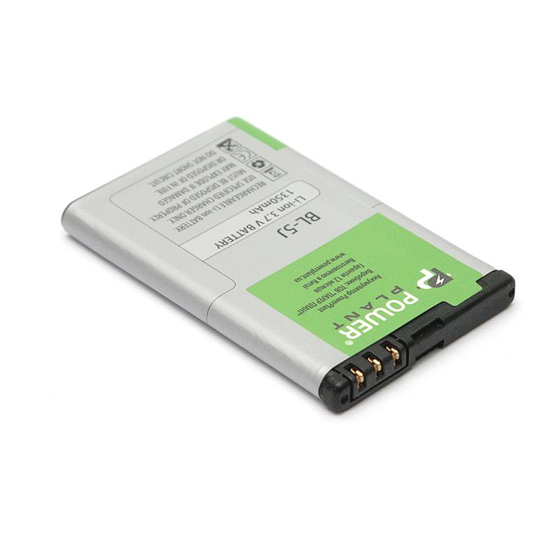 Купить Аккумулятор PowerPlant Nokia C3, 5228 (BL-5J) 1350mAh