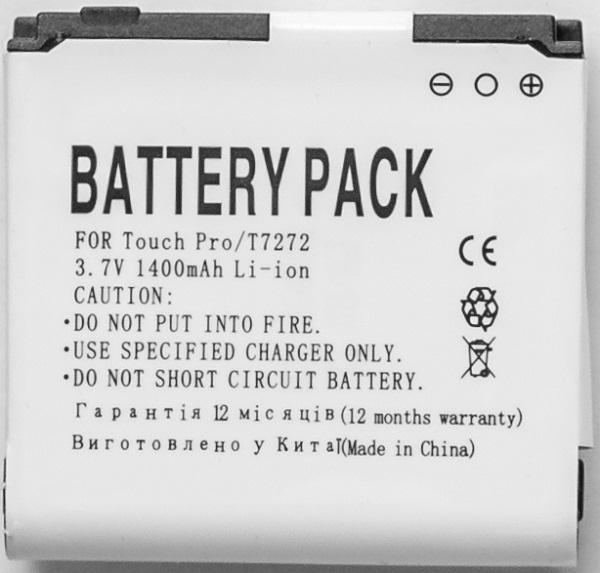 Купить Аккумулятор PowerPlant HTC Touch Pro (BA E270) 1400mAh