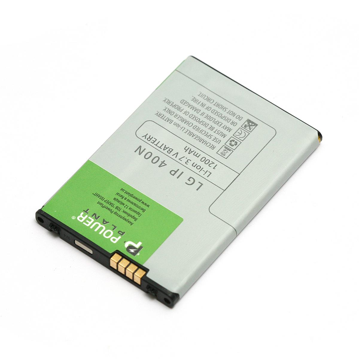 Купить Аккумулятор PowerPlant LG GT540 (IP-400N) 1200mAh
