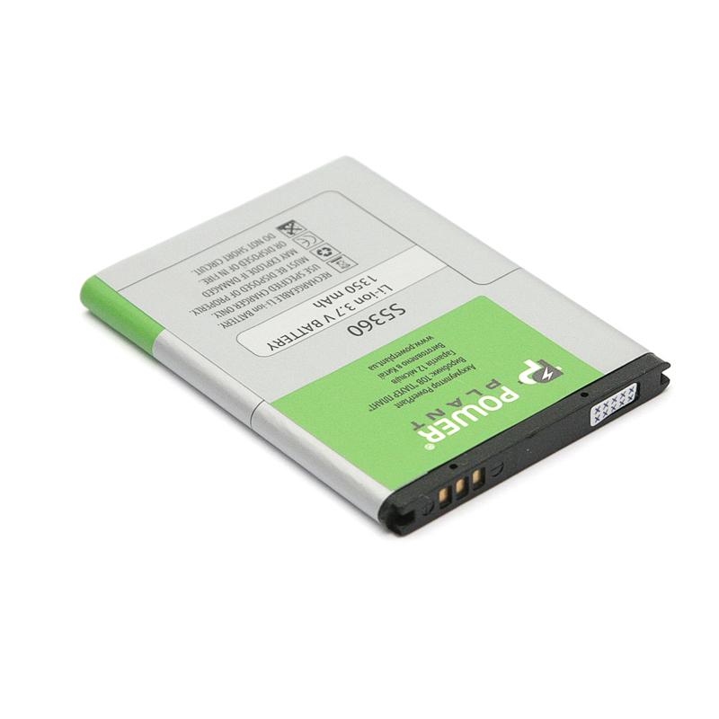 Купить Аккумулятор PowerPlant Samsung S5360 (EB454357VA) 1350mAh