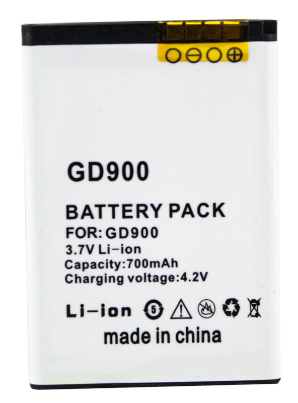 Купить Аккумулятор PowerPlant LG GD900 Crystal (IP-520N) 700mAh