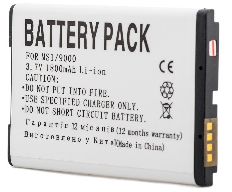 Купить Аккумулятор PowerPlant Blackberry 9000 (M-S1) 1800mAh