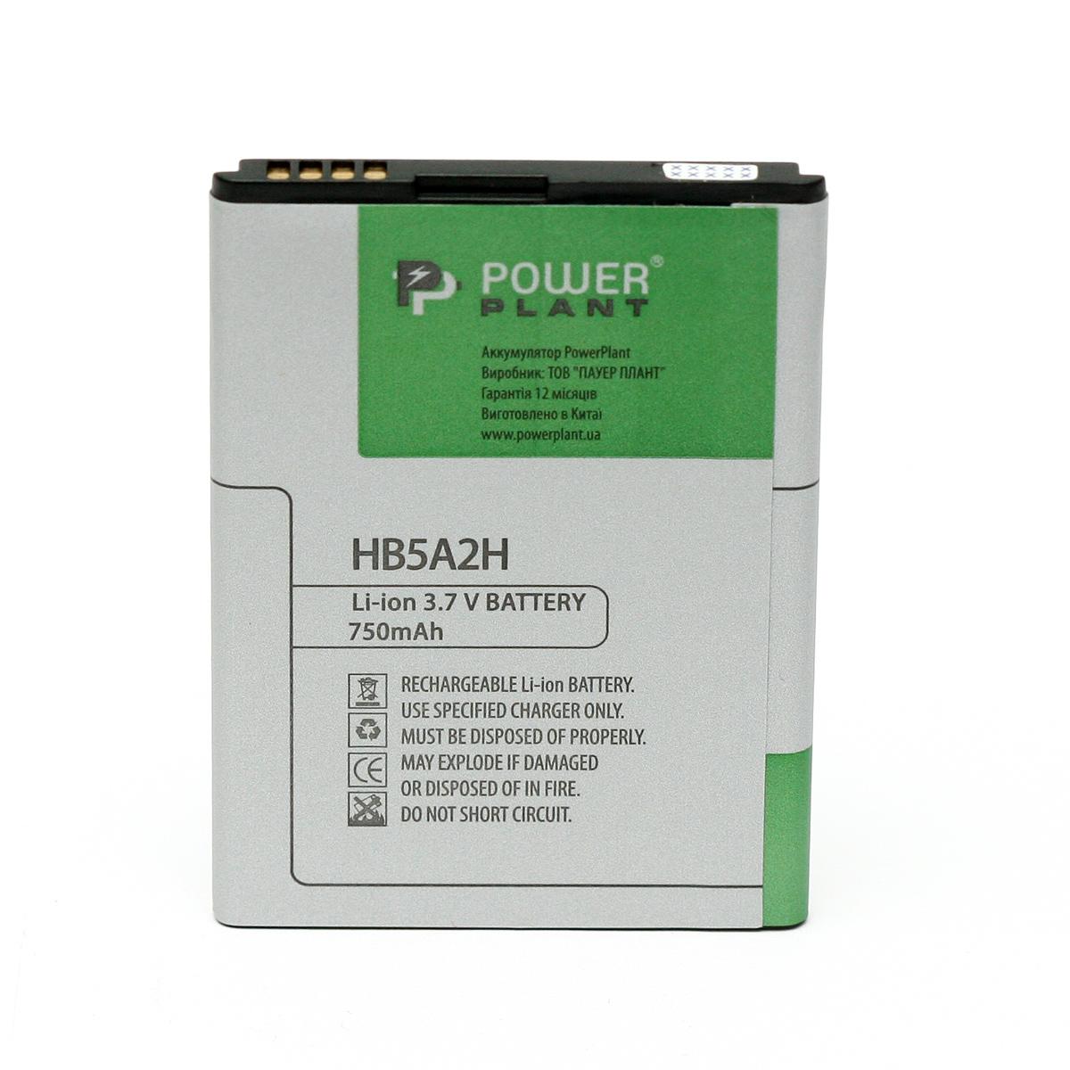Купить Аккумулятор PowerPlant Huawei CS366 (HB5A2H) 750mAh