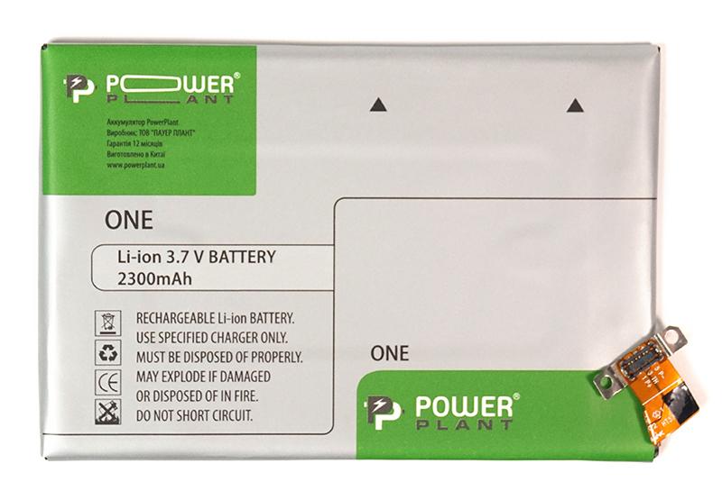 Купить Аккумулятор PowerPlant HTC One (BN07100) 2300mAh