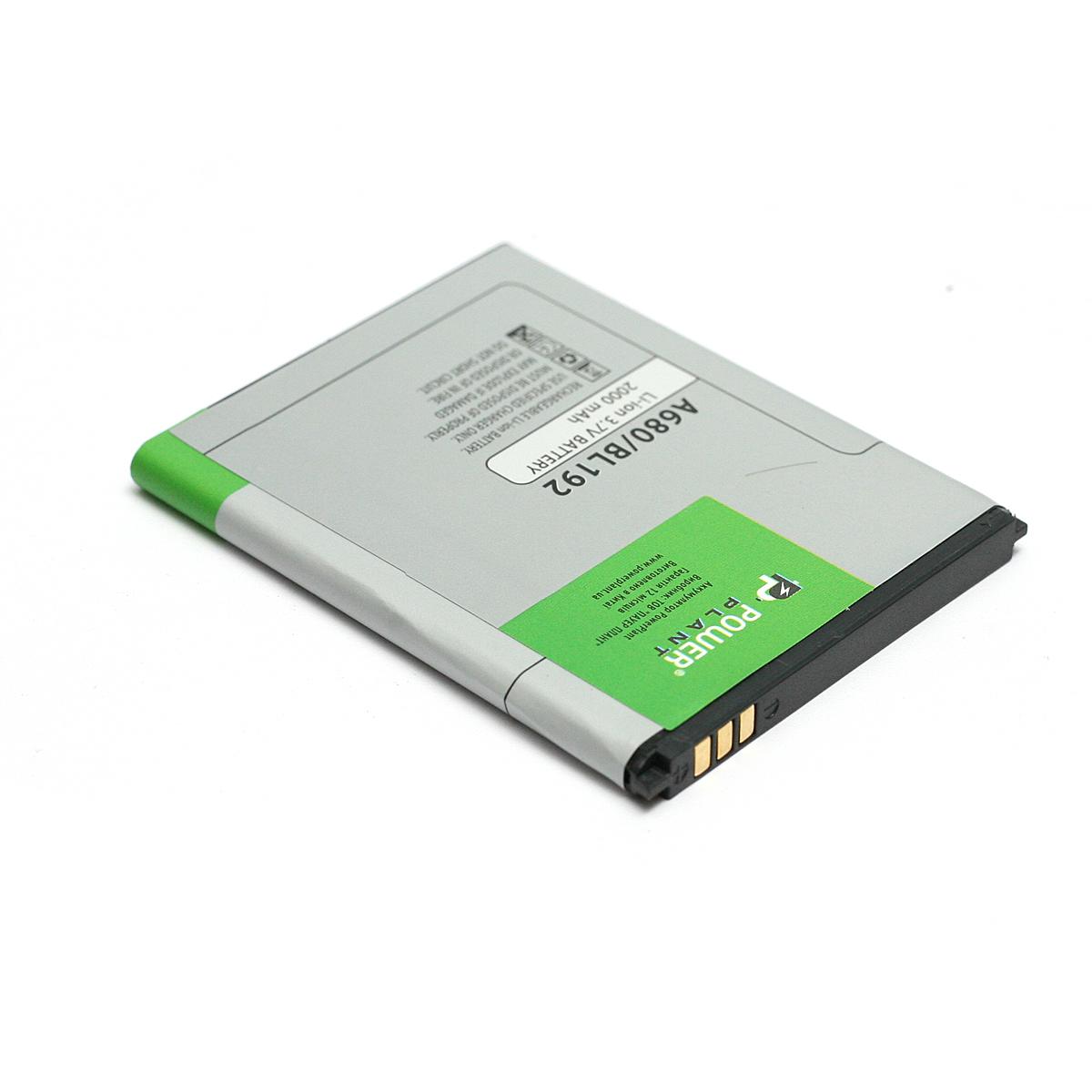 Купить Аккумулятор PowerPlant Lenovo A680 (BL192) 2000mAh