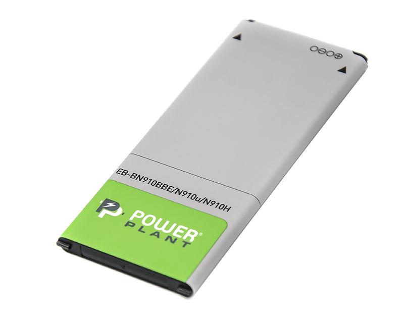 Купить Аккумулятор PowerPlant Samsung SM-N910H (EB-BN910BBE) 3220mAh