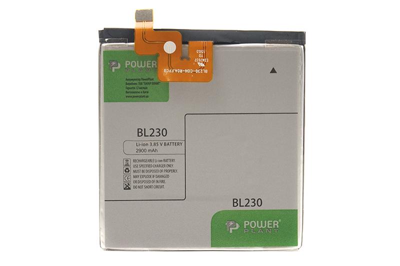 Купить Аккумулятор PowerPlant Lenovo Vibe Z2 (BL230) 2900mAh
