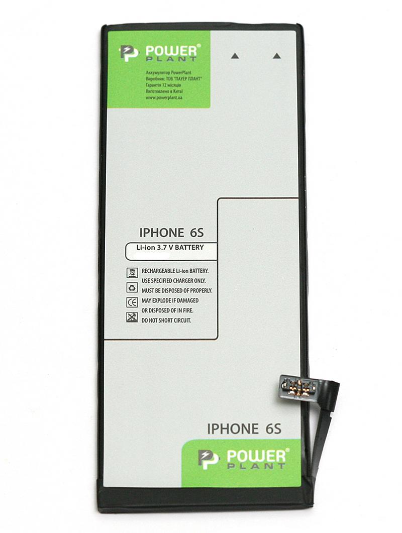 В наличии - Аккумулятор PowerPlant Apple iPhone 6S (616-00036) 1715mAh цена, характеристики