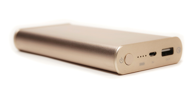Купить Универсальная мобильная батарея PowerPlant/Q1S/Quick-Charge 2.0/10200mAh Gold