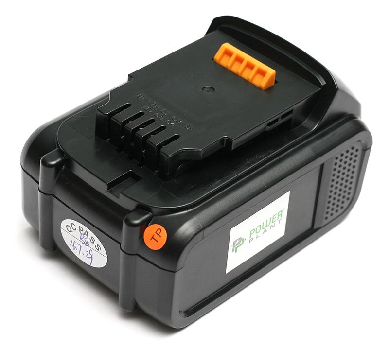 Купить Аккумулятор PowerPlant для шуруповертов и электроинструментов DeWALT GD-DE-18(C) 18V 4Ah Li-Ion