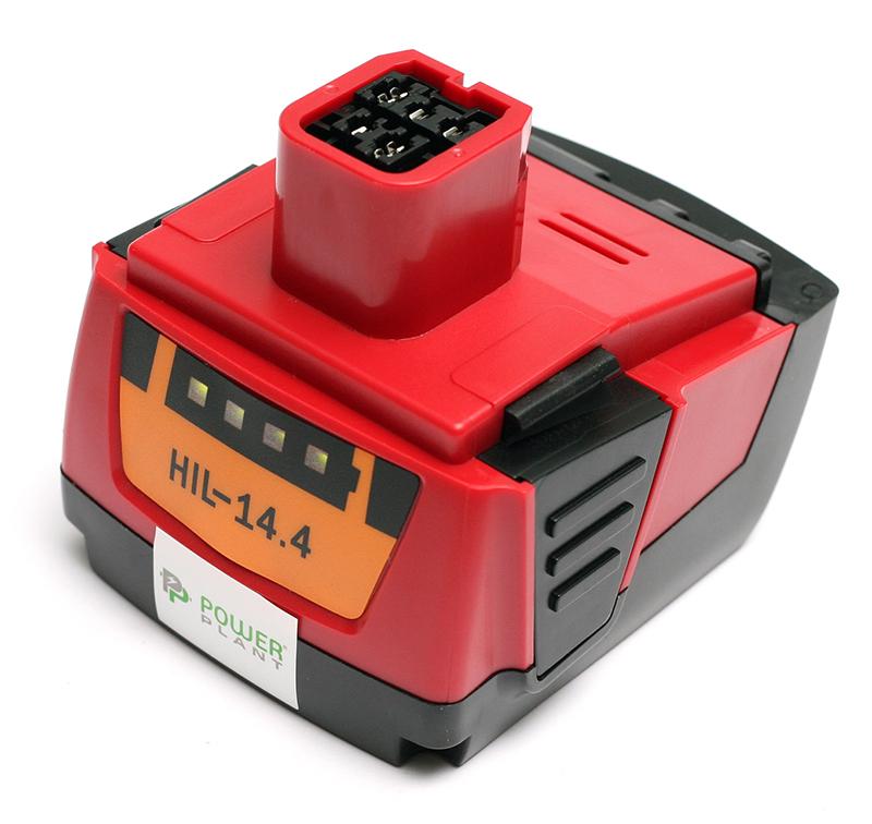 Купить Аккумулятор PowerPlant для шуруповертов и электроинструментов HILTI GD-HIL-14.4 14.4V 4Ah Li-Ion