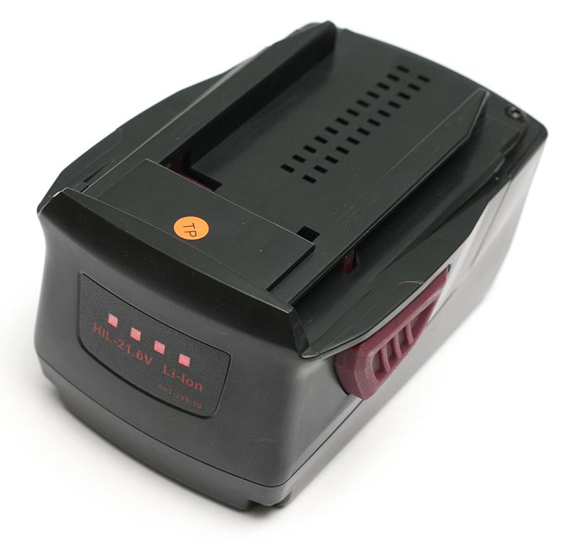 Купить Аккумулятор PowerPlant для шуруповертов и электроинструментов HILTI GD-HIL-21.6 21.6V 4Ah Li-Ion