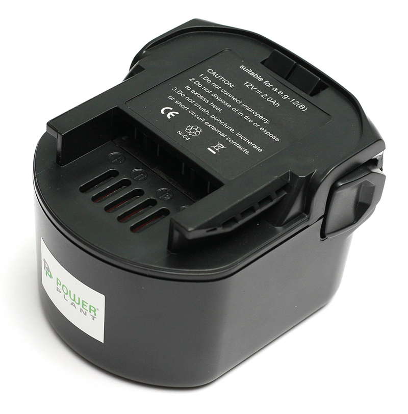 Купить Аккумулятор PowerPlant для шуруповертов и электроинструментов AEG GD-AEG-12(B) 12V 2Ah NICD (B1214G)