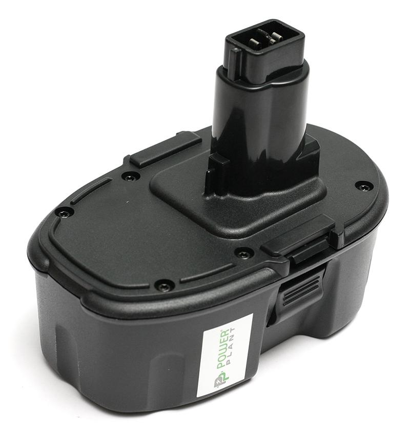 Купить Аккумулятор PowerPlant для шуруповертов и электроинструментов DeWALT GD-DE-18(A) 18V 3Ah NIMH