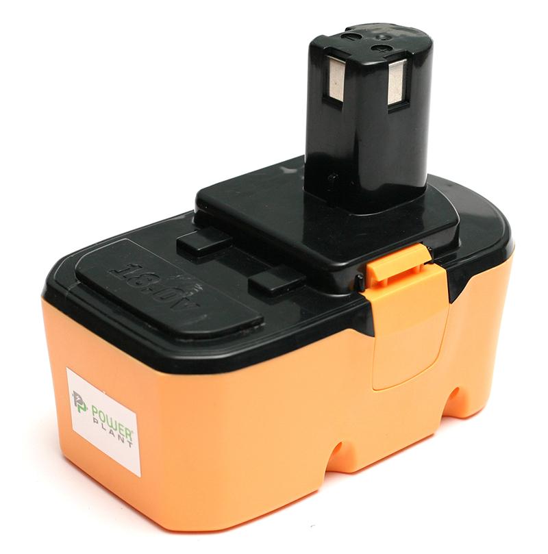 Купить Аккумулятор PowerPlant для шуруповертов и электроинструментов RYOBI GD-RYO-18(A) 18V 3.3Ah NIMH