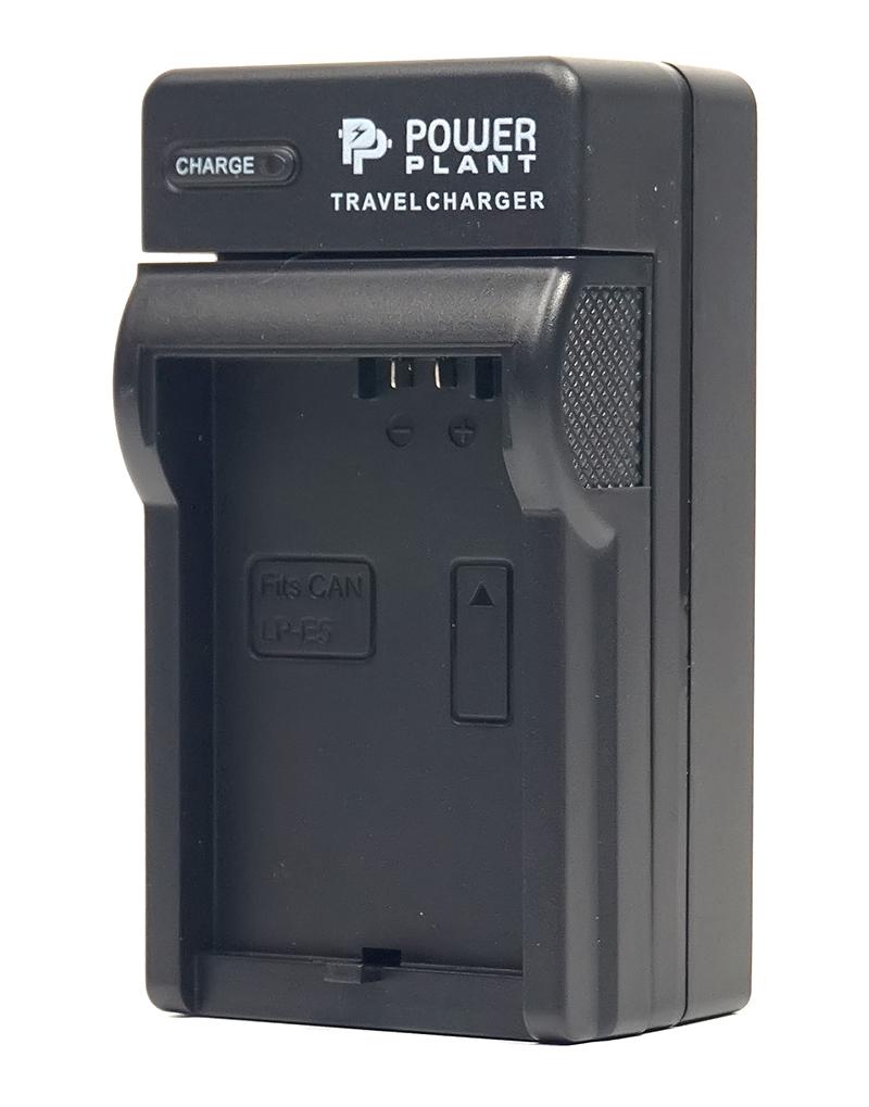 Купить Сетевое зарядное устройство PowerPlant Canon LP-E5, IA-BP85ST Slim
