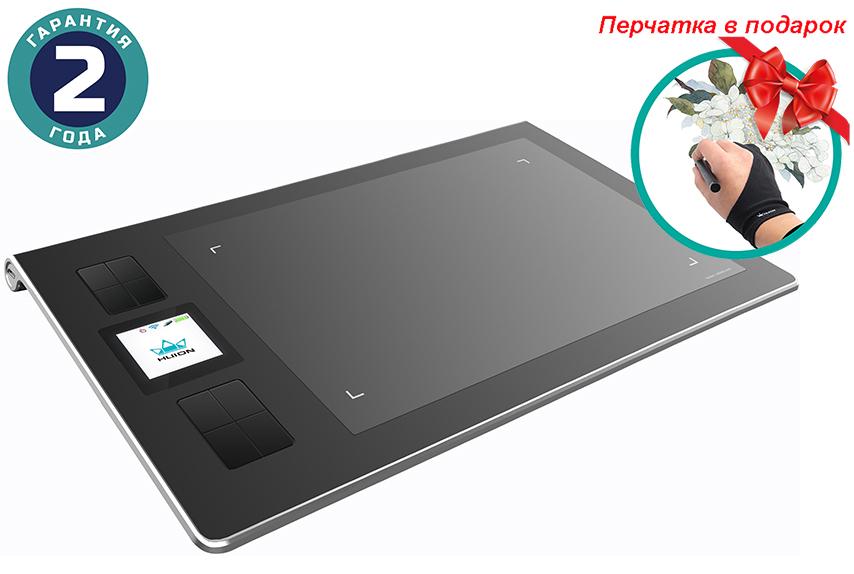 Купить Графический планшет Huion DWH69 + перчатка
