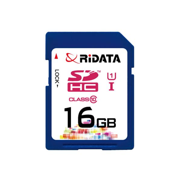 Купить Карта памяти RiDATA SDHC 16GB Class 10 UHS-I