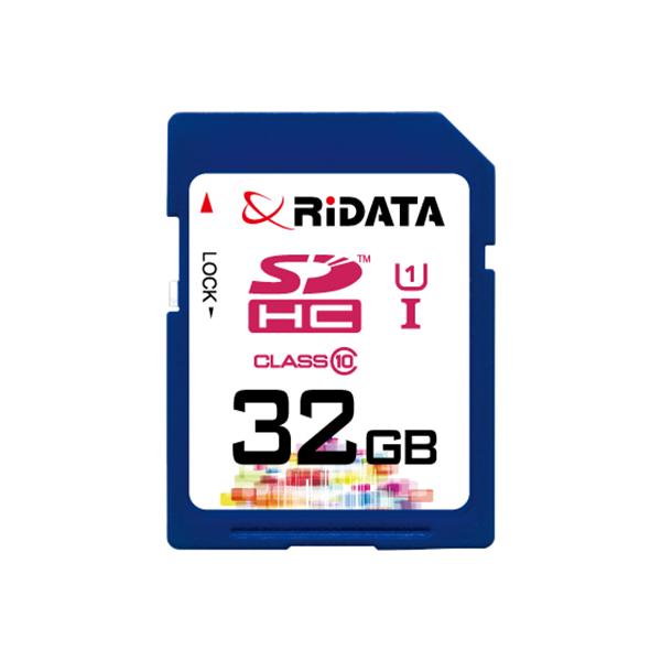 Купить Карта памяти RiDATA SDHC 32GB Class 10 UHS-I
