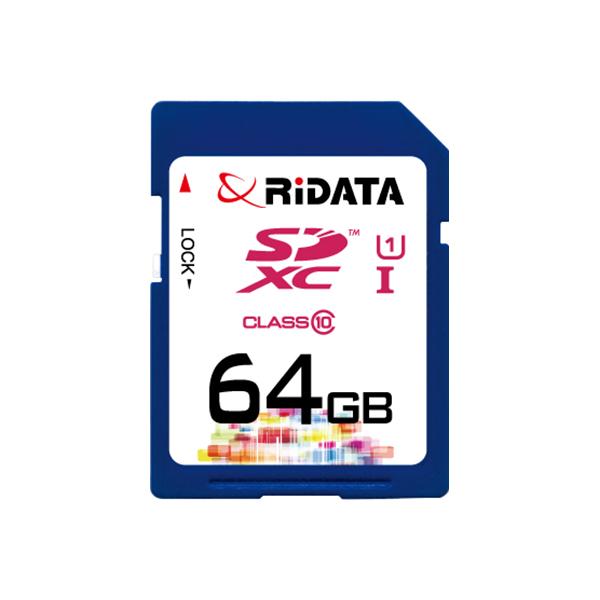 Купить Карта памяти RiDATA SDXC 64GB Class 10 UHS-I
