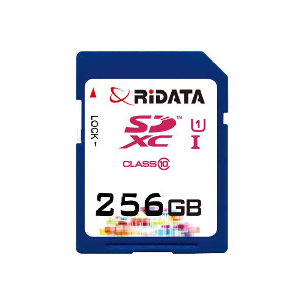 Купить Карта памяти RiDATA SDXC 256GB Class 10 UHS-I