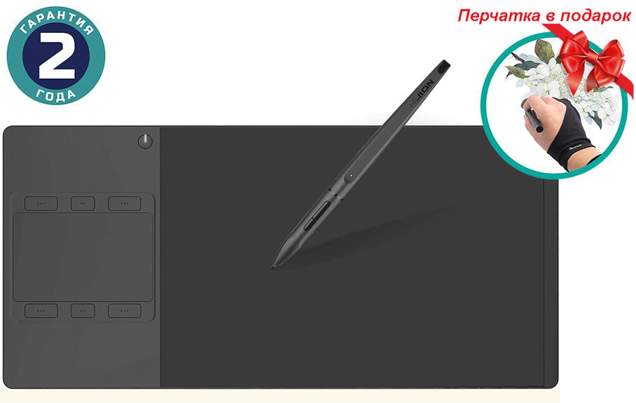 Купить Графический планшет Huion Inspiroy G10T + перчатка