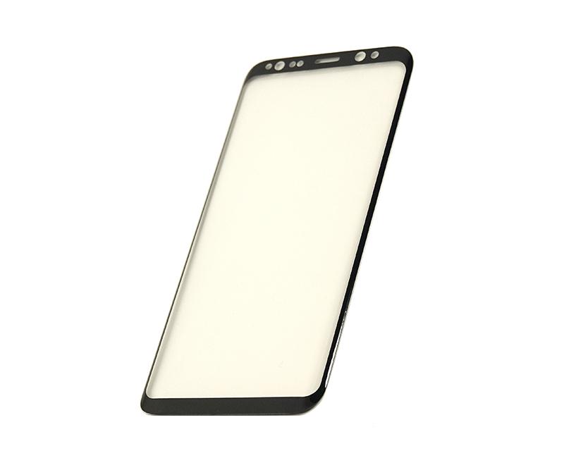 Купить Защитное стекло 3D PowerPlant для Samsung S8 Black